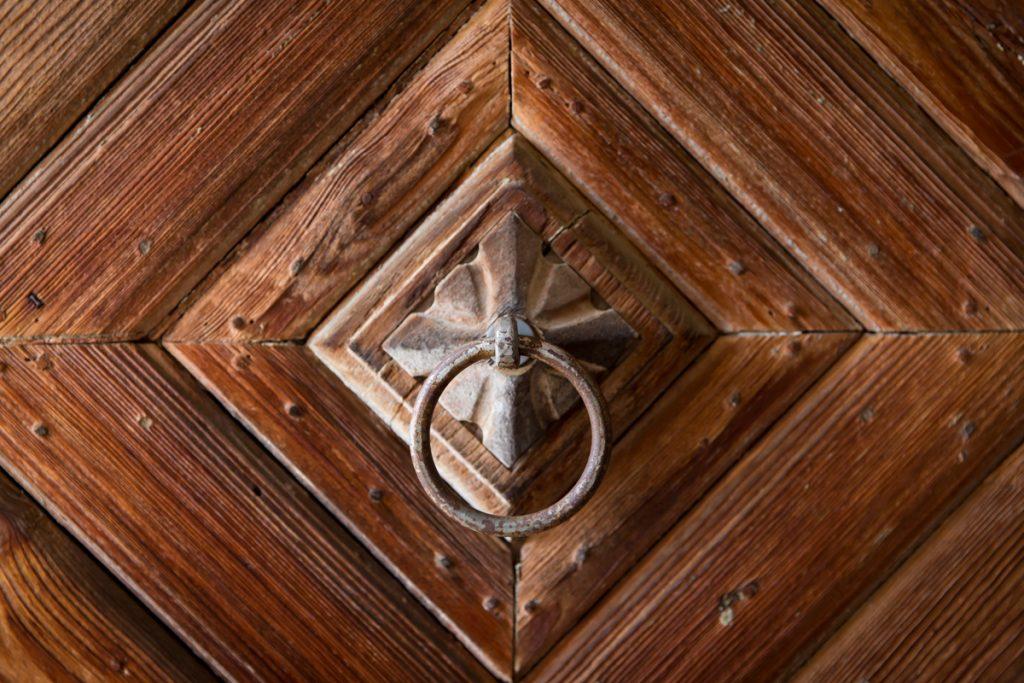 Bauernhaus exklusiv - Detail Eingangstür
