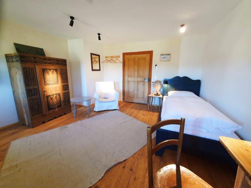 Bio-Hotel Urlaub und Auszeit im Einzelzimmer