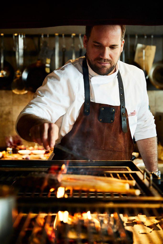 Felix Fischer im Farmer's Club Restaurant